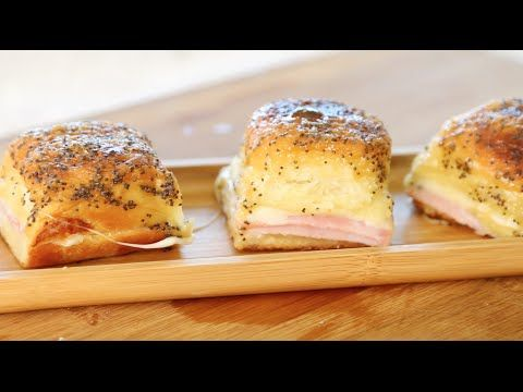 Ham and Cheese Hawaiian Bread Sandwich Recipe 2