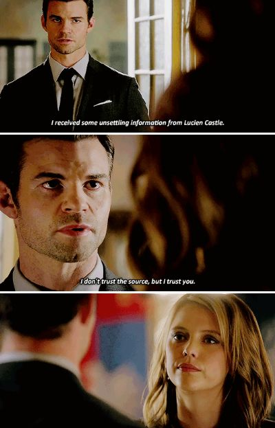 "#TheOriginals 3x02 ""You Hung the Moon"" - Elijah and Freya"