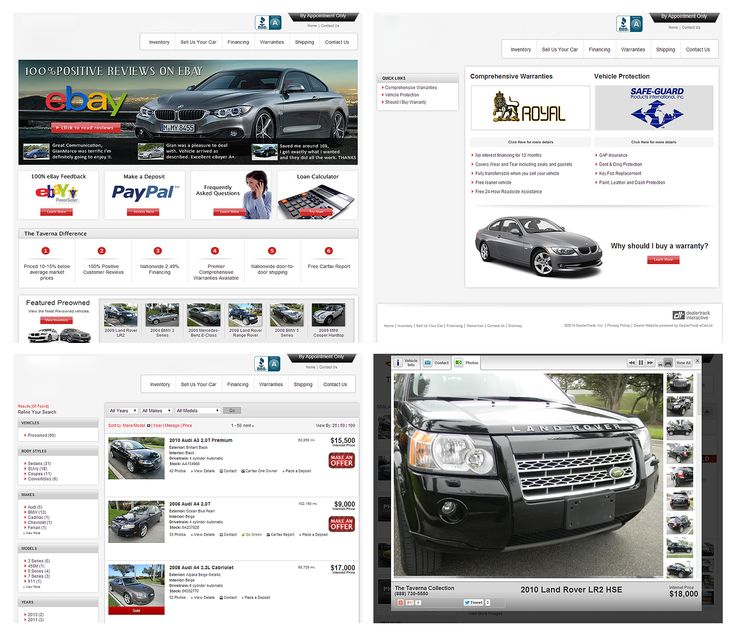 16 best Car Dealers Web Design images on Pinterest