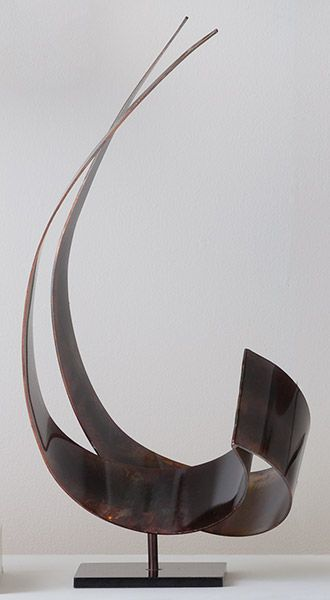 Copper Abstract Sculpture, Sculpture, Home Furnishings, Home - The Museum Shop of The Art Institute of Chicago