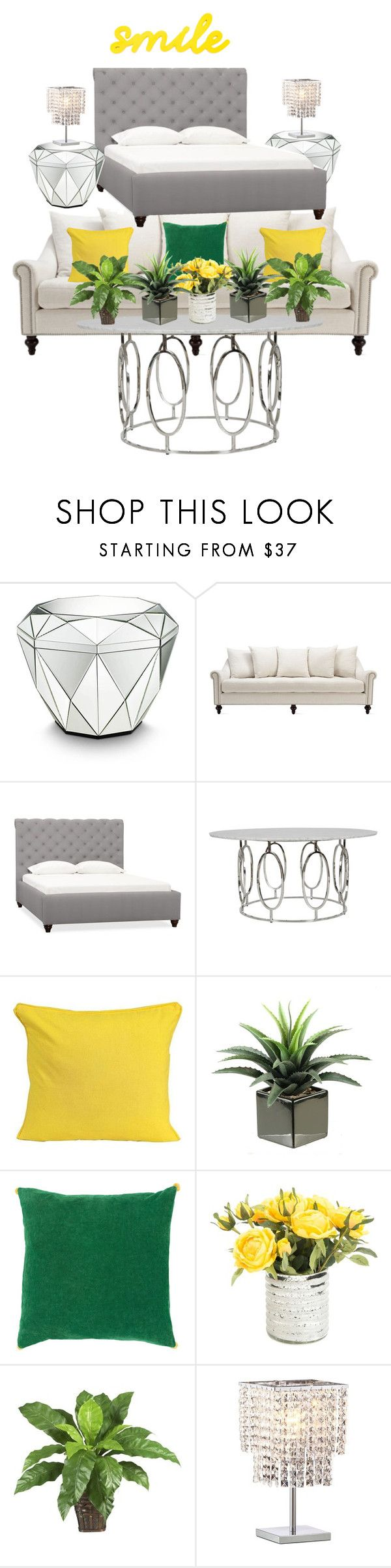 """""""Stylish and elegant parents bedroom"""" by franze-lotter ❤ liked on Polyvore featuring interior, interiors, interior design, home, home decor, interior decorating, Amara, Pottery Barn, Décor 140 and Nearly Natural"""