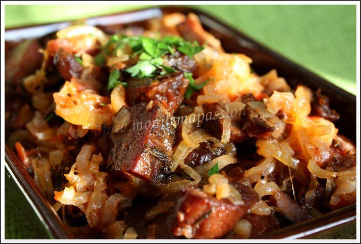 Rougail boucané – Smoked thick cut bacon rougail