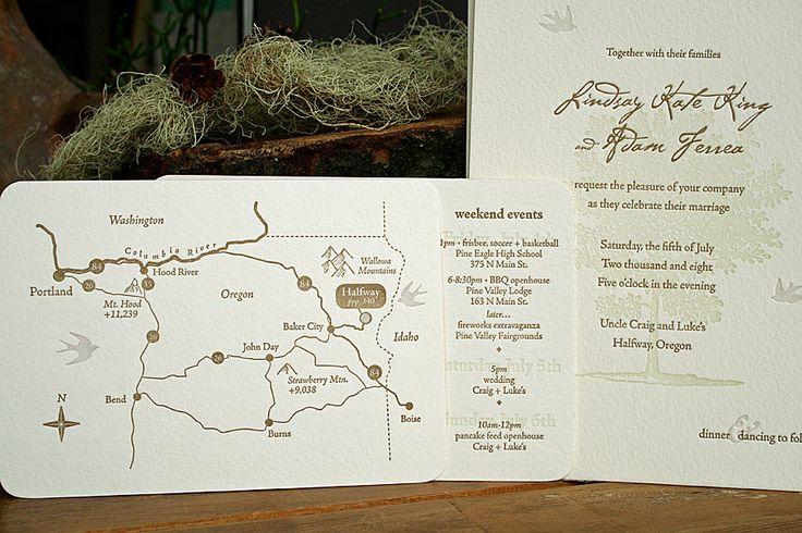 Wedding Invitations Portland Oregon: Wedding Invitations: A Collection Of Weddings Ideas To Try
