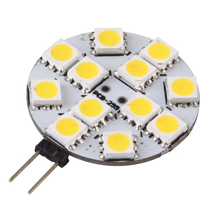 automotive  led lights. G4, 2 pins, 12leds. 9-30VAC/DC
