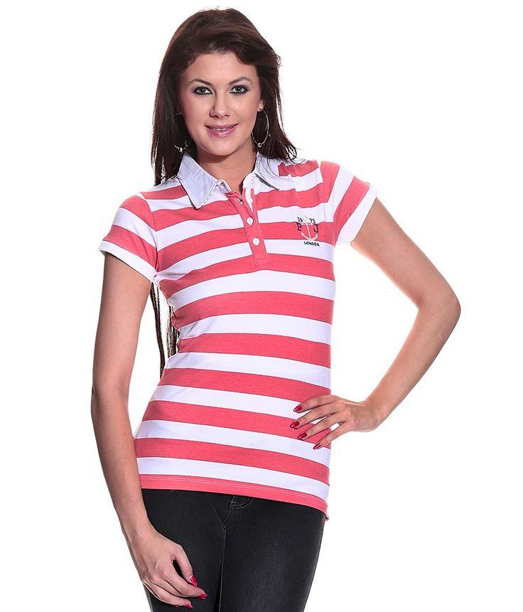 Red Cotton Lycra Stripes Half Polos, http://www.snapdeal.com/product/pepe-red-cotton-lycra-stripes/61291181