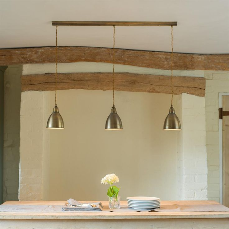 Barbican Triple Pendant Light | Traditional | Contemporary | Jim Lawrence