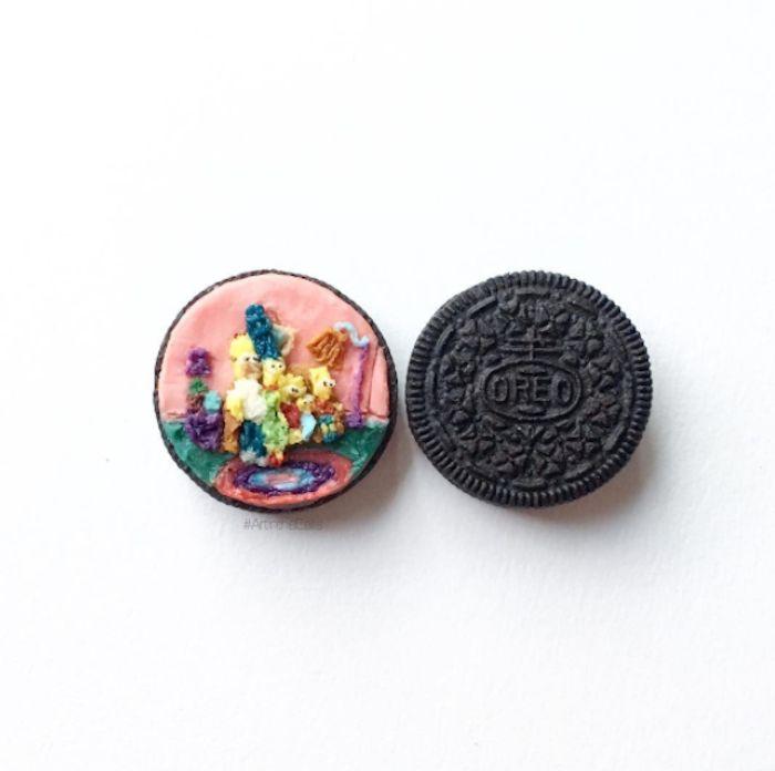 Elle transforme les biscuits Oreo en personnages de pop culture