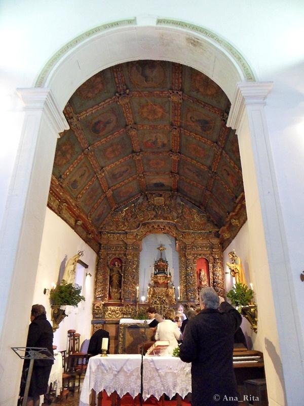 Altar-mor da Capela de Sant`Ana.