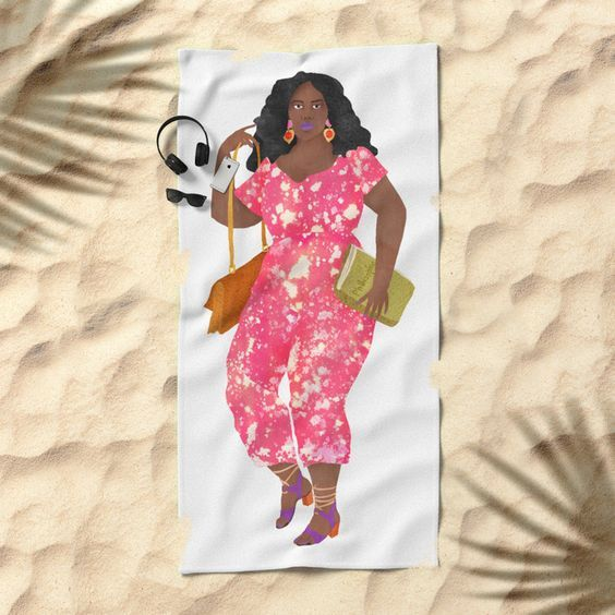 Today: 20% Off Beach Towels! A good opportunity to get this Eurydice beach towel for the summer! #fifikoussout #print #sisterhood #portrait #girl #woman #lady #fashion #illustration #sand #travel #beach #towel #beachtowel #sun #independentartist #designer #artist #spring #summer #warm #society6 @society6 #Society6th #Every6th