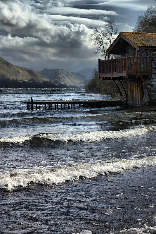 The Duke of Portland Boathouse has been voted the best waterside retreat by BBC Country file magazine and its location at the top of Lake Ullswater gives it superb un-paralleled views.