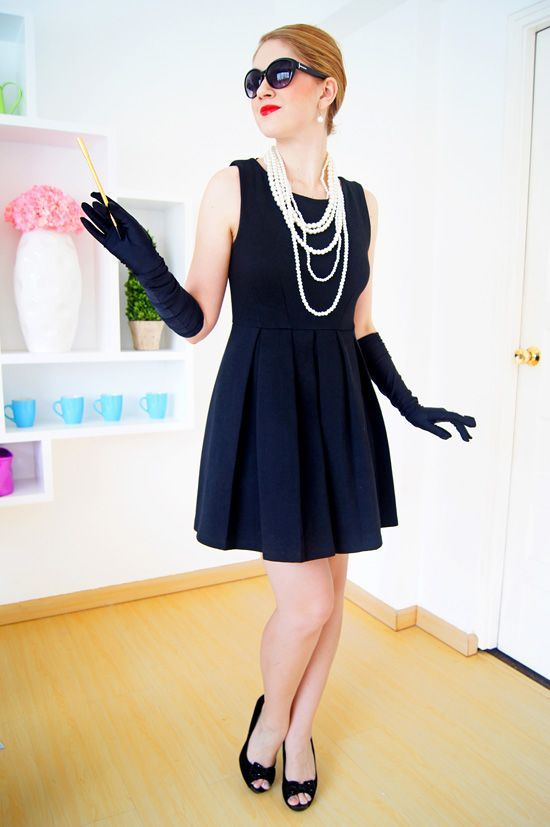 halloween costumes you can create with your little black dress - Halloween Costumes With A Black Dress