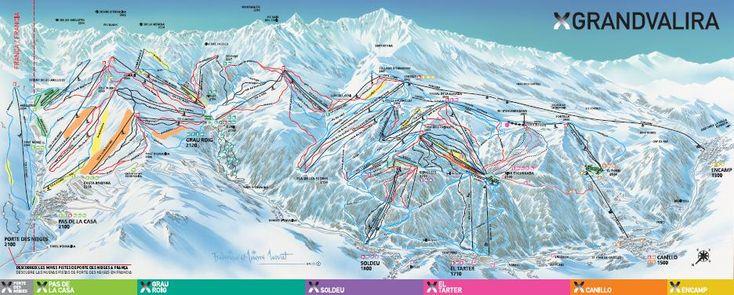 Estación de esquí Grandvalira: Andorra - Andorra -