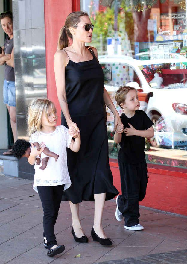 The Jolie-Pitt Twins Have Grown Up Since The Last Time We Saw Them