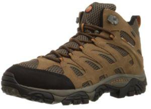 Merrell Men s Moab Mid Waterproof Hiking Boot Hiking Boots