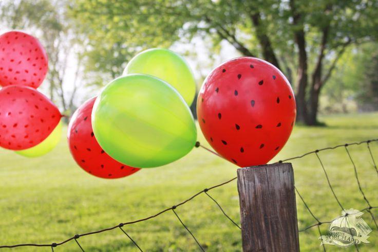 Watermelon Balloons
