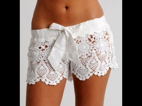 Crochet shorts--.Here is a reference of crocht stitch definitions and techniques with free video and photo tutorials.So enjoy and feel free to get in touch with me for any o...