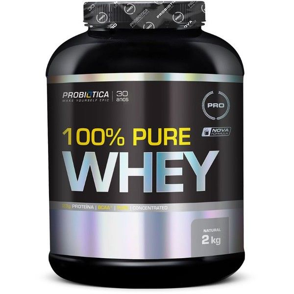 nice 100% Pure Whey Protein Probiótica - 900g
