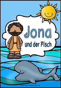 Bibel für Kinder: Jona und der grosse Fisch