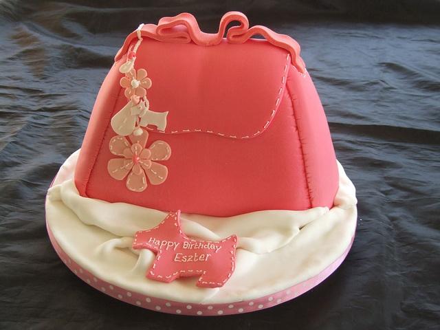 radley handbag cake by cakes by samantha, via Flickr