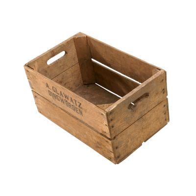 Obstkisten : 30Pfund Kiste der 50er Jahre 49 x 30 x 28 | Weinkisten-Shop.de - Alte und neue dekorative Weinkisten für Zuhause