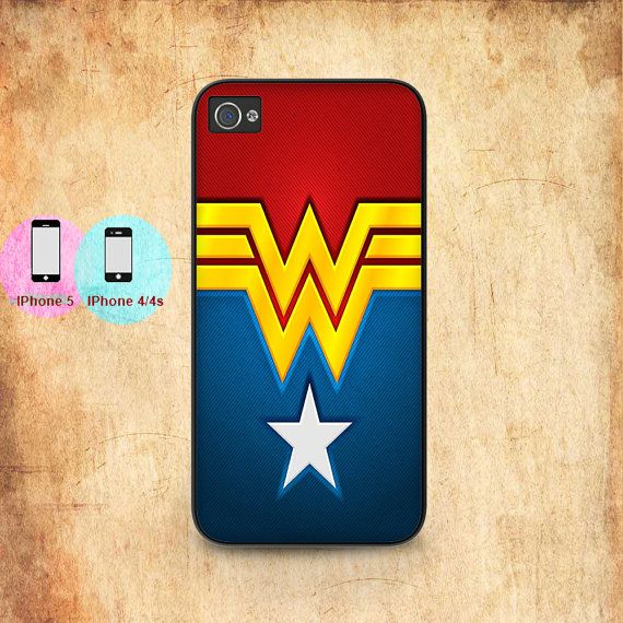 wonder woman logo costume for iphone 5 iphone 5s by undipshop, $9.99