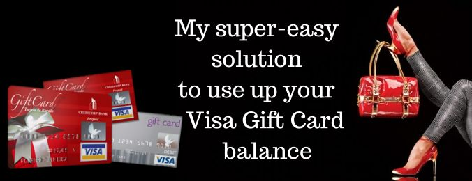If you're like me, at any given time I have at least three Visa or Master Card gift cards in my wallet, sometimes tossed to the bottom of my purse. The reason why these cards are so careles…