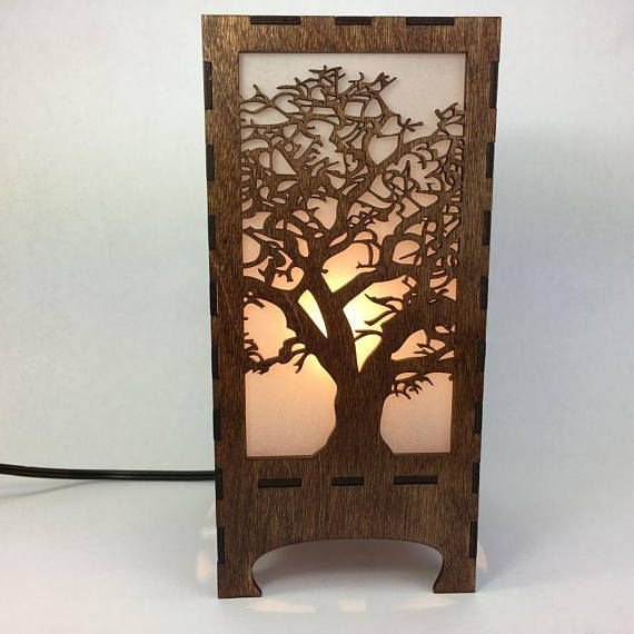 Wood And Metal Tree Wall Art Lighting And Design Jandk