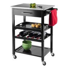 Anthony Stainless Steel Kitchen Cart