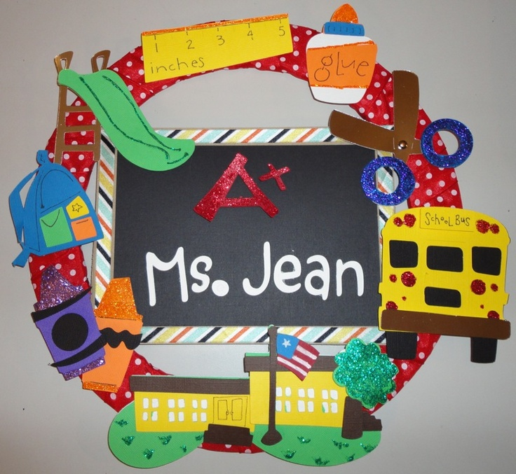 Classroom Wreath Ideas : Images about wreaths on pinterest teacher