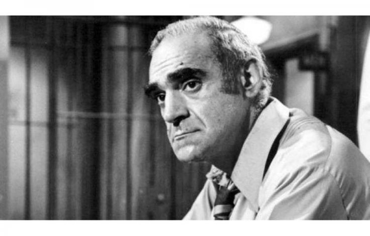 El legendario actor de Hollywood Abe Vigoda, conocido por su papel de Salvatore Tessio, en la película 'El Padrino' (1972), de Francis Ford Coppola, personaje de quien continuó haciendo la voz en videojuegos del filme hasta 2007.