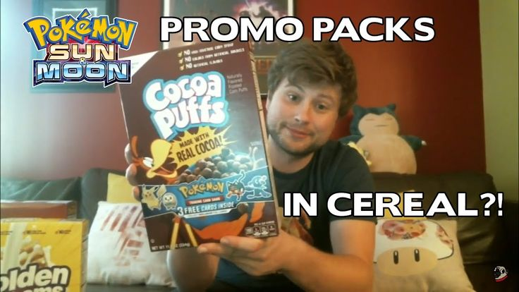POKEMON PROMO PACKS FROM CEREAL!?