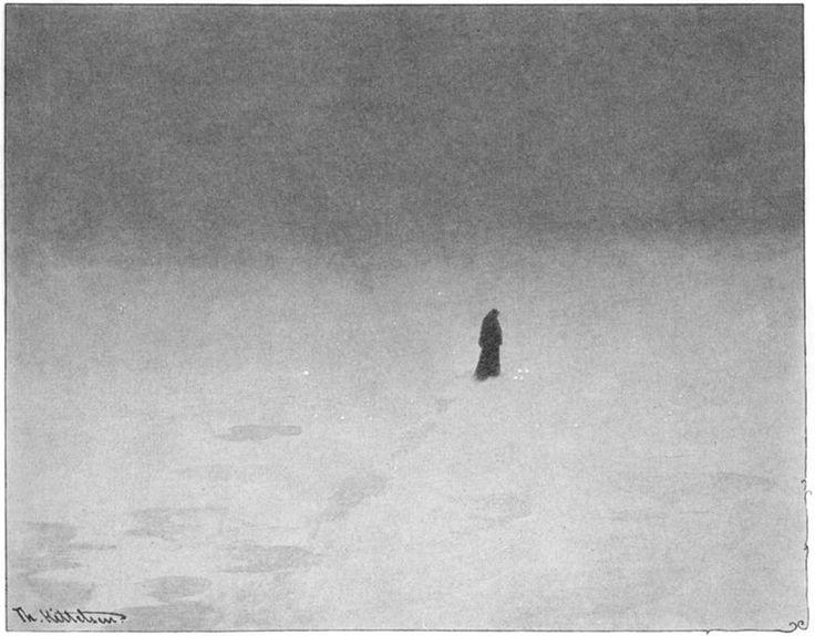 Theodor Kittlesen (1857-1914), Sorgen (The Woe) n.d.