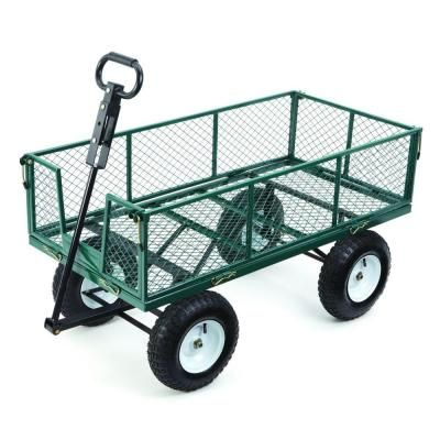 Superb Capacity Heavy Duty Steel Utility Cart MH2121D At The Home