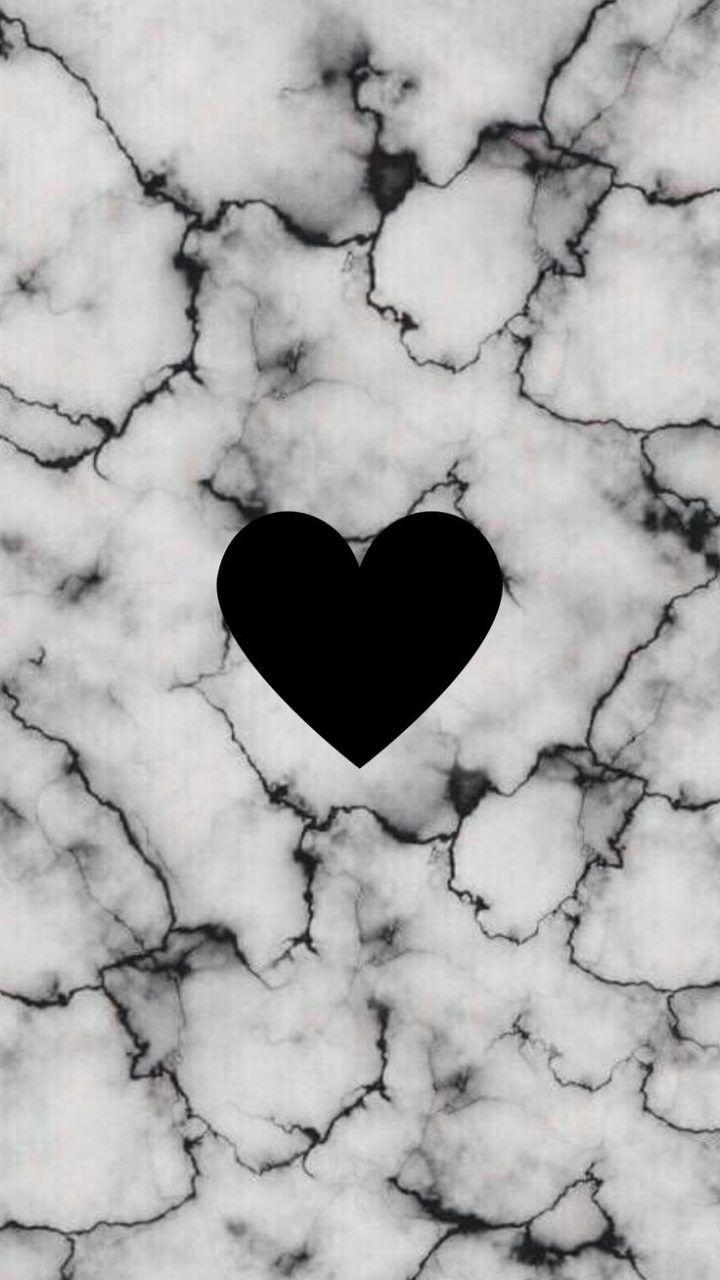 Instagram Highlight Icons Black Heart Love Wallpaper