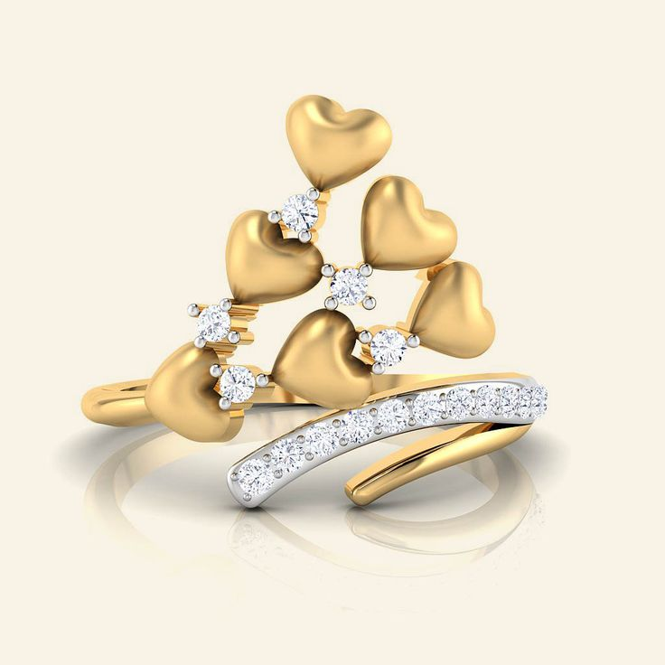 Buy Diamond Zlato Darline Ring Jewellery Online - Caratstyle.com