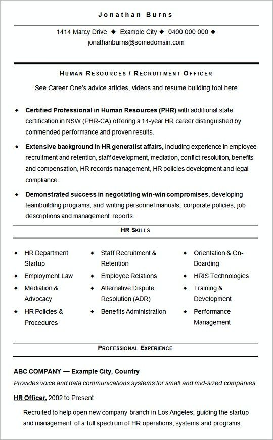The 25+ best New resume format ideas on Pinterest Resume writing - bid format