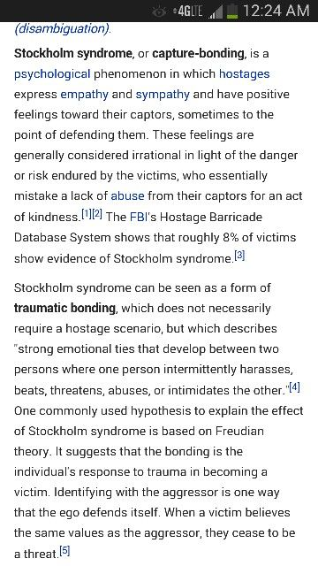 Stockholm syndrome cognitive dissonance. A recovery from narcissistic sociopath relationship abuse,  17/17