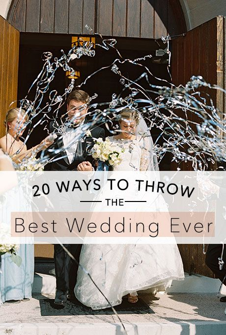 Brides: Tips on How to Throw the Best Wedding Ever