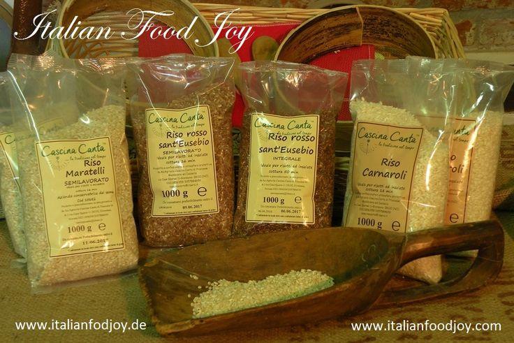 Der beste #italienische #Reis direkt vom Hersteller. #Carnaroli Reis, #Maratelli, #roter Reis, #brauner Reis für #Risotto Von #Italian #Food Joy www.italianfoodjoy.de fur D und AT ww.witalianfoodjpy.com for UE