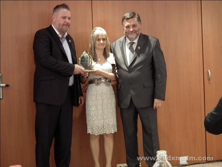 The Leaders of the European Network, our personal sponsors, Laszló Kócsó and Anikó Fodor got the recognition for their new Double Crown Diamond level.