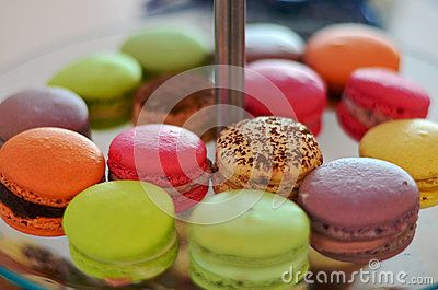 Stock Photo about French Macarons