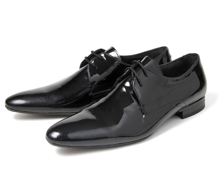 Dollar Patent Black (£95.00) - Dollar gives you the perfect mens party shoe