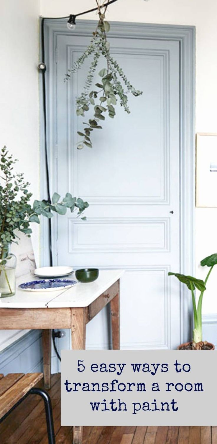 5 easy ways to transform a room with paint - inspired interior design advice from renowned interior designer Lauren Gilberthorpe. Lauren shares her expert tips on using paint
