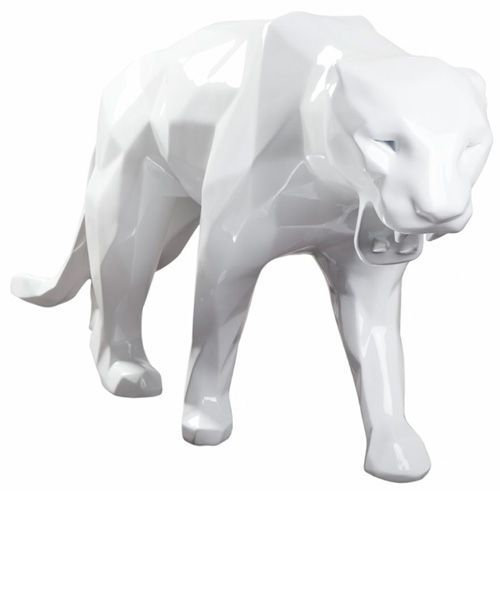 Découvrez la sculpture Panthère de Richard Orlinski sur Artaban.com ! #orlinski #sculpture #paris #roar