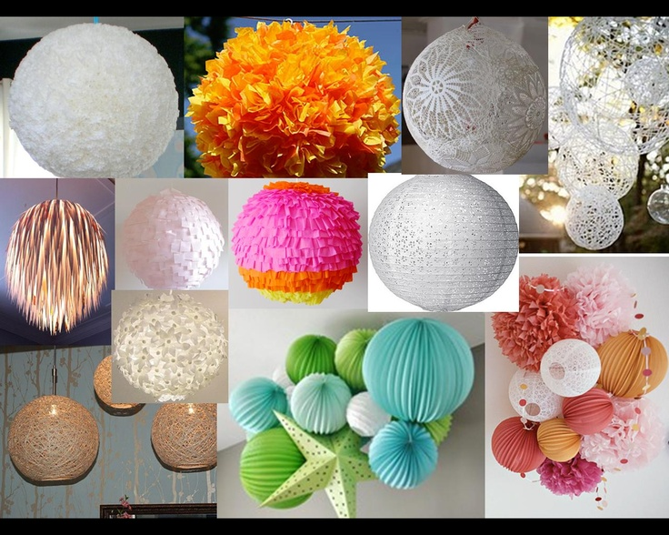 Brainstorming on creating the perfect all-white, DIY lantern cluster.