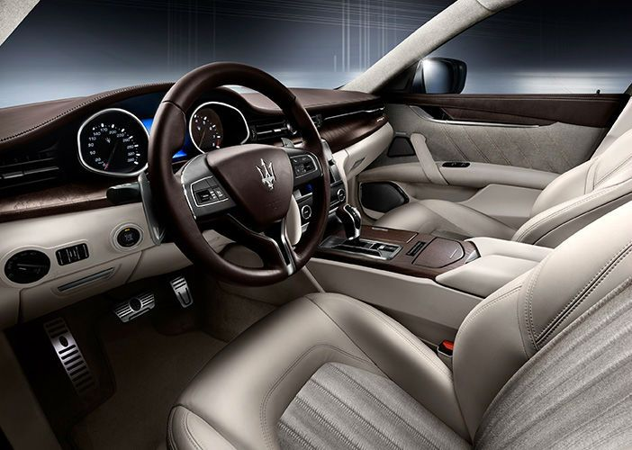 Maserati Convertible Interior