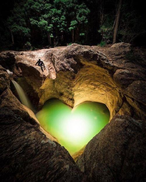 Lovely shaped @nature pool Killarney Glen Australia Photo by...