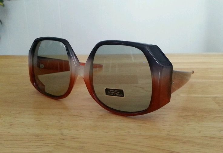 True Vintage oversized womens sunglasses disco hippie 60s 70s mod festival