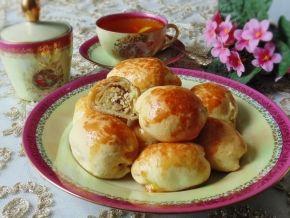 Пирожки «Быстрые» с курицей и яйцом, рецепт с фото.