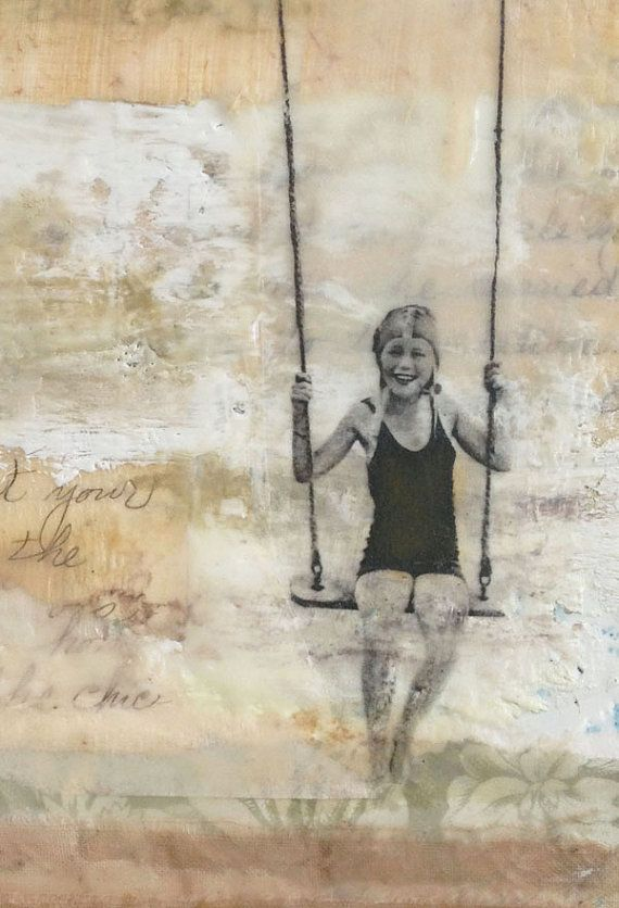 Encaustic Painting Mixed Media Art I by The Legend of Now